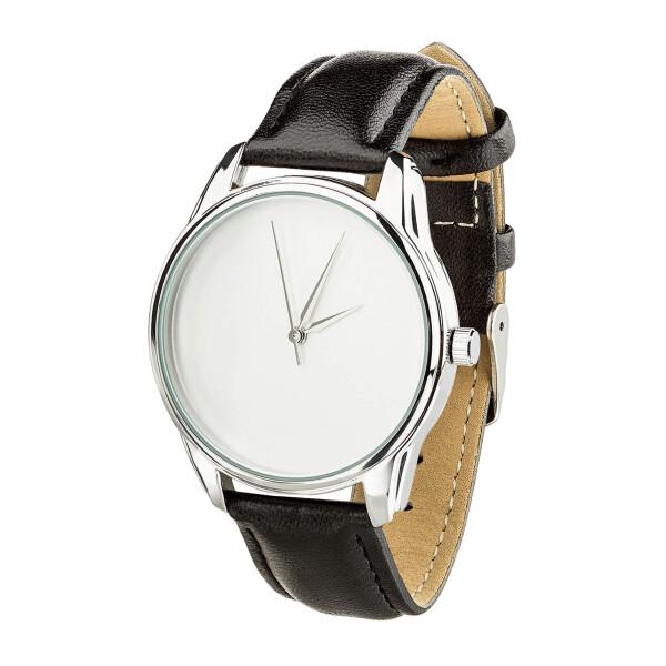 Купить Наручные часы, Часы ZIZ Минимализм (ремешок насыщенно - черный, серебро) + дополнительный ремешок