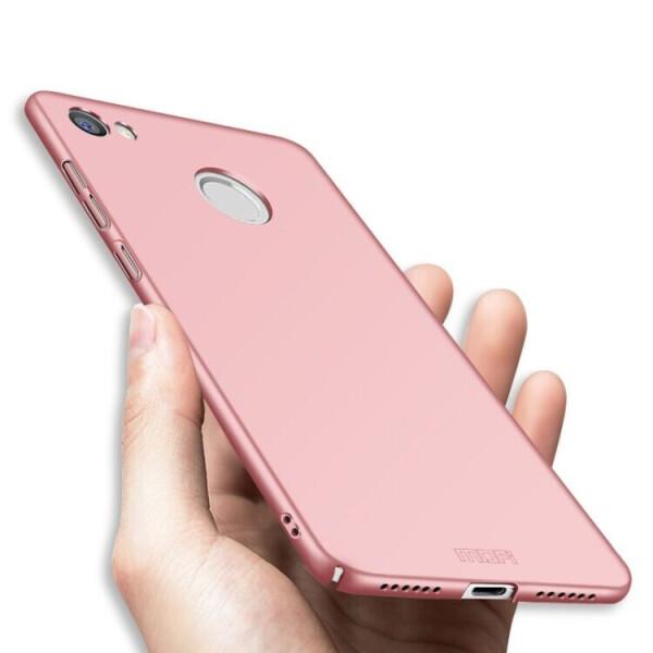 Купить Чехлы для телефонов, Пластиковый чехол MOFI Slim Shield для Xiaomi Redmi Note 5A Prime - Rose Gold