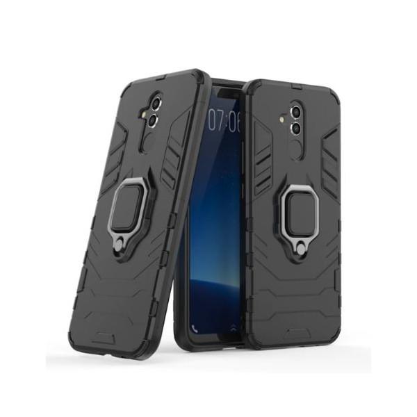 Купить Чехлы для телефонов, ударопрочный Transformer Ring под магнитный держатель для Huawei Mate 20 lite (Черный / Soul Black) (680955), Epik