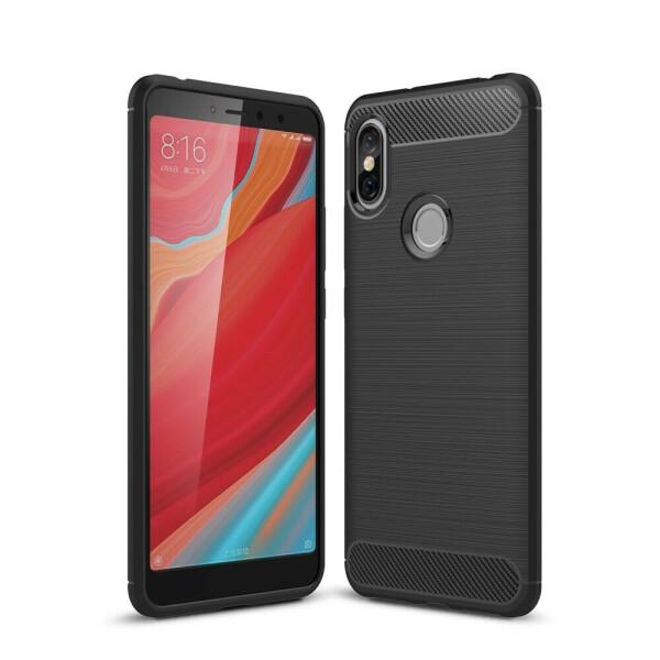 Защитный чехол UniCase Carbon для Xiaomi Redmi S2 - Black