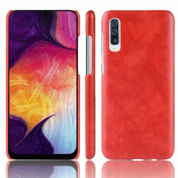 Купить Чехлы для телефонов, Защитный чехол Deexe Leather Back Cover для Samsung Galaxy A70 (A705) - Red