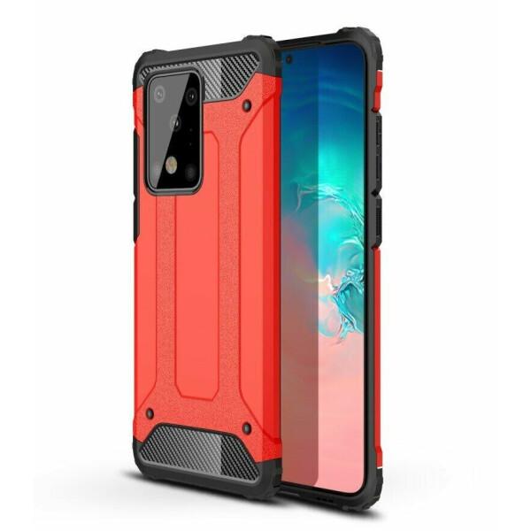 Купить Чехлы для телефонов, Защитный чехол UniCase Rugged Guard для Samsung Galaxy S20 Ultra (G988) - Red