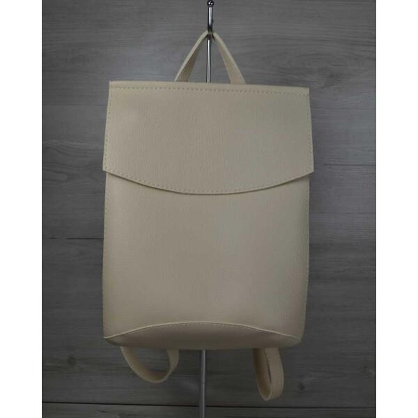 Купить Рюкзаки, Рюкзак-сумка WeLassie молодежный бежевого цвета (44209)