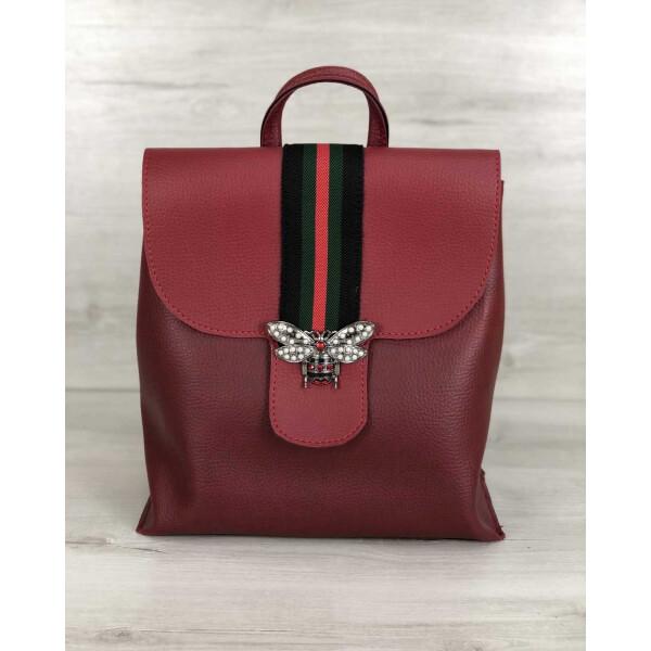 Купить Рюкзаки, Рюкзак-сумка WeLassie женский Барб красного цвета (никель) (44722)