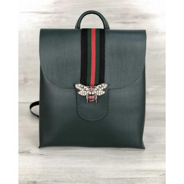 Купить Рюкзаки, Рюкзак-сумка WeLassie женский Барб зеленого цвета (никель) (44728)