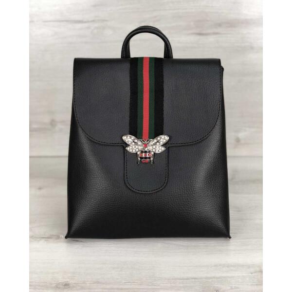 Купить Рюкзаки, Рюкзак-сумка WeLassie женский Барб черного цвета (никель) (44726)
