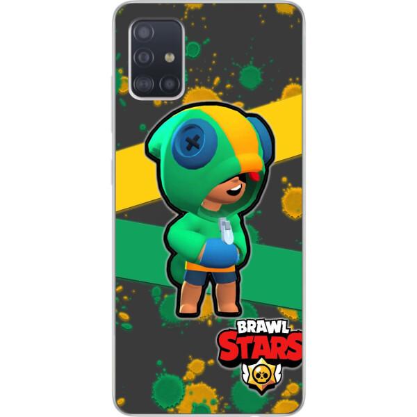 Купить Чехлы для телефонов, Оригинальный чехол Amstel для Samsung A51 2020 Galaxy A515 с картинкой Бравл Старс Леон