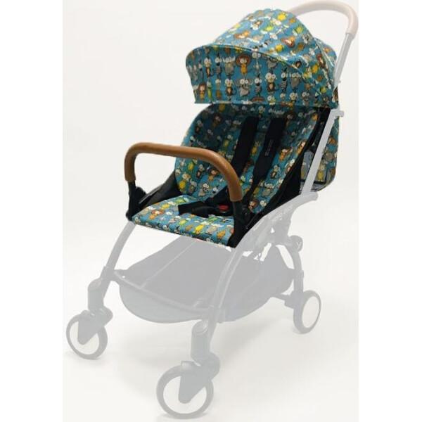 Купить Аксессуары для автокресел, Текстильный комплект Yoya 175А+ Зоопарк