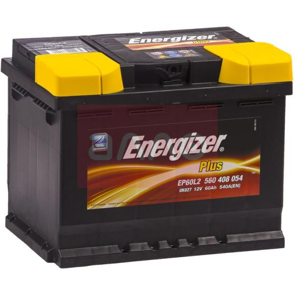 Energizer Plus 60 Ah 540 A (560408054)