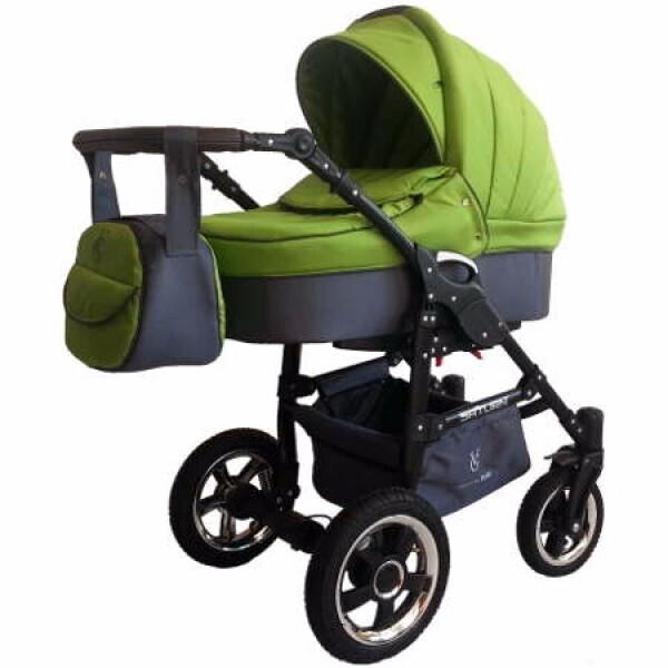 Купить Коляски, Детская универсальная коляска 2 в 1 Victoria Gold Saturn 3 NEW, салатовая (124109-4)