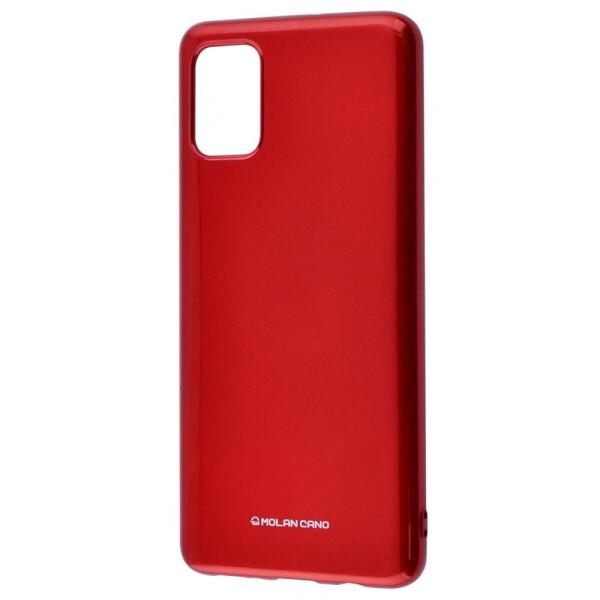 Купить Чехлы для телефонов, Molan Cano Glossy Jelly Case Samsung Galaxy A51 (A515) bordo