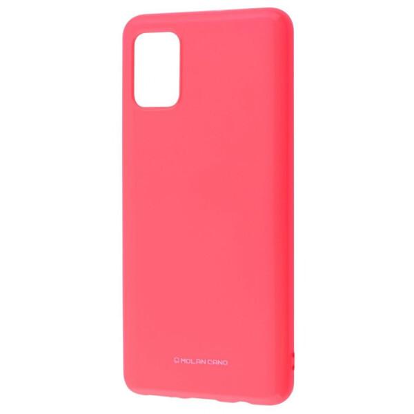 Купить Чехлы для телефонов, Molan Cano Glossy Jelly Case Samsung Galaxy A51 (A515) pink