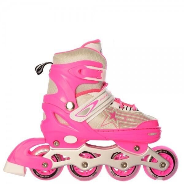 Купить Роликовые коньки, Profi A 4138-XS-P(27-30) Розовый