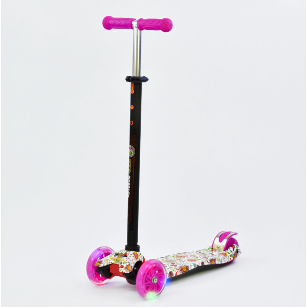 Купить Самокаты, Самокат Scooter Maxi S779 Цветочки