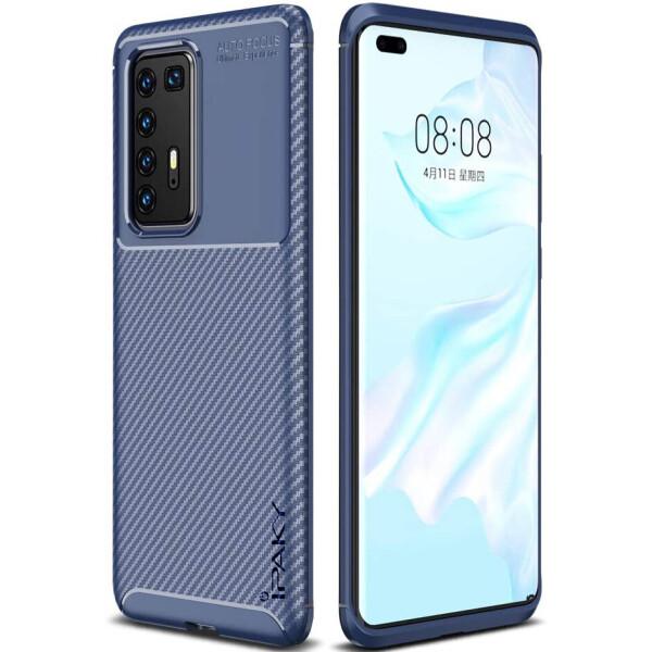 Купить Чехлы для телефонов, TPU чехол iPaky Kaisy Series для Huawei P40 Pro Синий