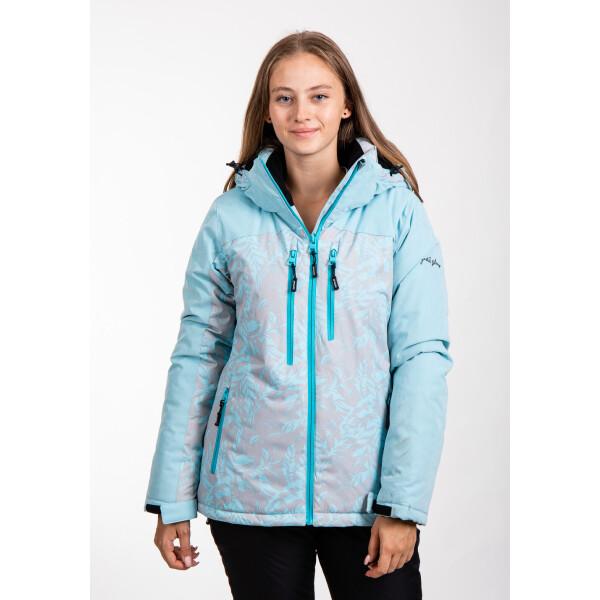 Купить Горнолыжные куртки, Куртка лыжная женская Just Play Leaf голубой (B2369-lightblue)