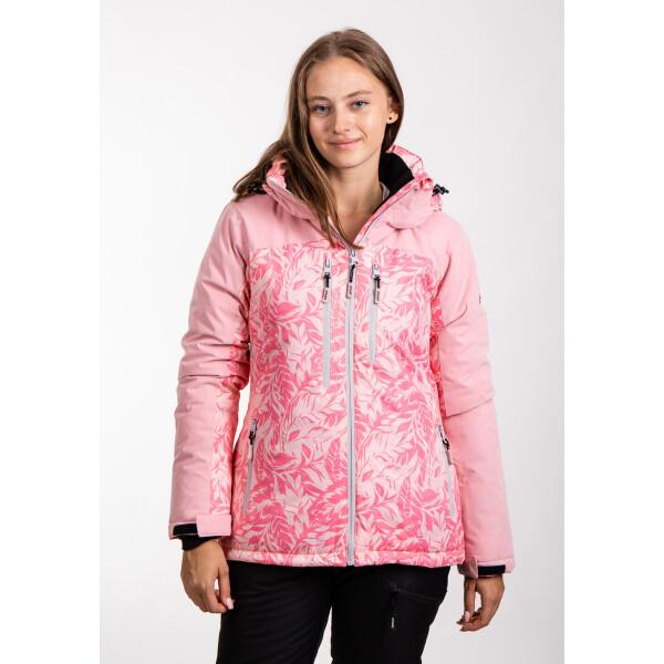 Купить Горнолыжные куртки, Куртка лыжная женская Just Play Leaf розовый (B2369-pink)