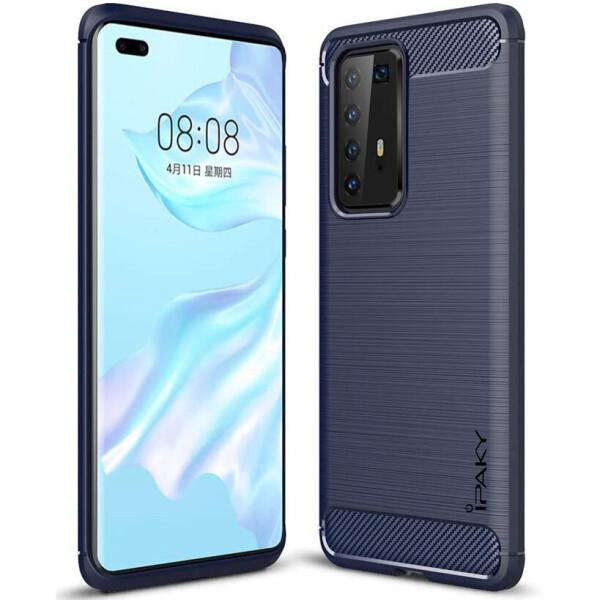 Купить Чехлы для телефонов, TPU чехол iPaky Slim Series для Huawei P40 Pro Синий, Epik
