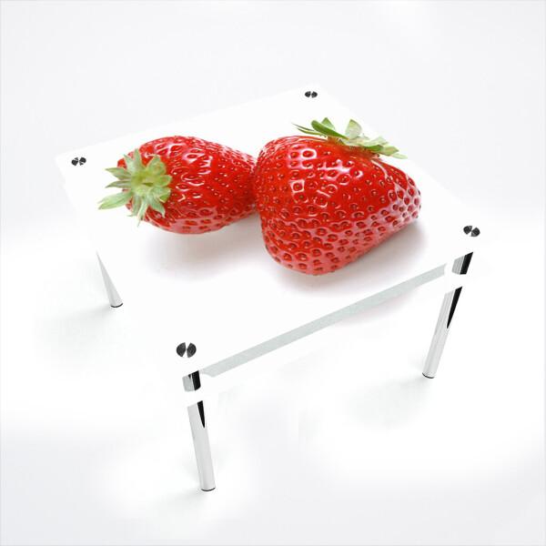 Купить Обеденные столы, Стол БЦ-стол Квадратный с проходящей полкой Red berry (1100 x 1100 x 750), БЦ-Стол