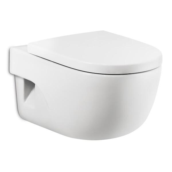Купить Унитазы, Унитаз подвесной ROCA Meridian-N A34H249000 с сиденьем Soft Close дюропласт