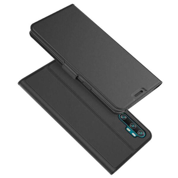 Купить Чехлы для телефонов, Чехол-книжка Dux Ducis с карманом для визиток для Xiaomi Mi Note 10 / Note 10 Pro / Mi CC9 Pro Черный, Epik
