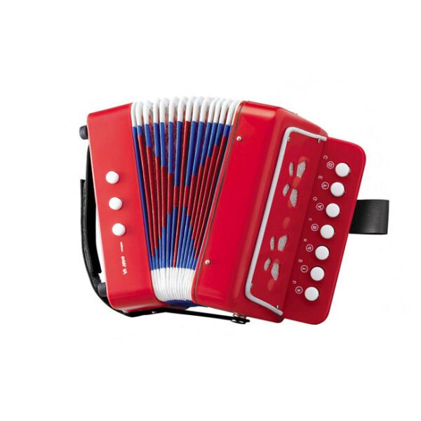 Купить Детские музыкальные инструменты, Гармошка 6429 (Красный), Shantou Huada