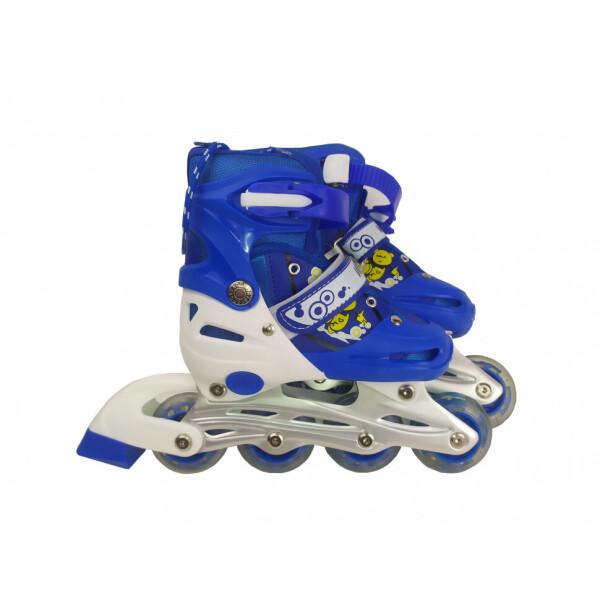 Купить Роликовые коньки, Ролики RS17002 M(31-34) (Blue), Jinxing