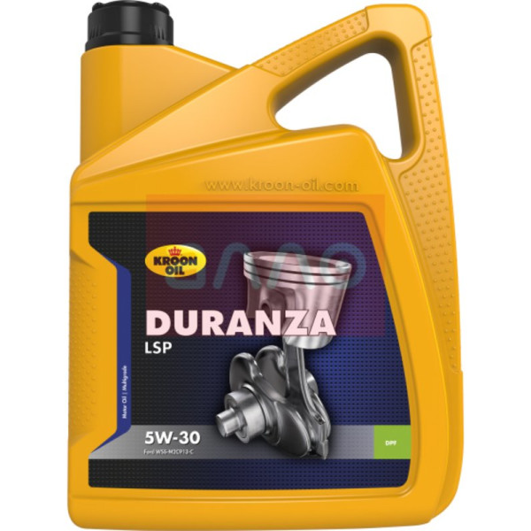 Купить Моторные масла, Kroon Oil Duranza LSP 5W-30 (Ford WSS-M2C913-D), 5л (34203)