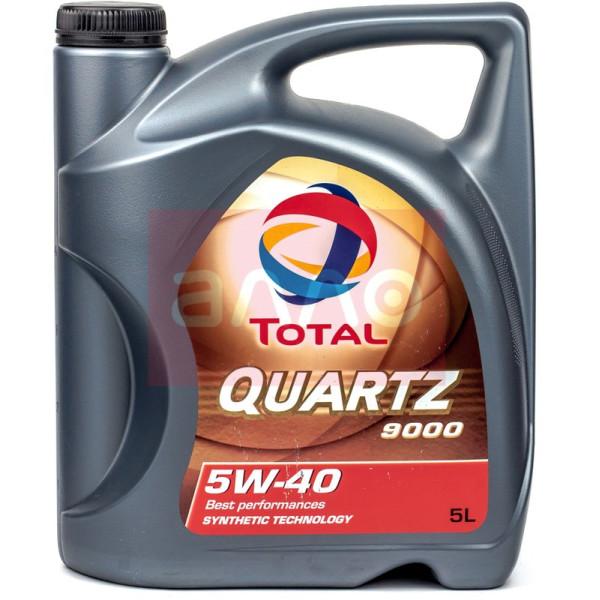 Total Quartz 9000 5W-40, 5л