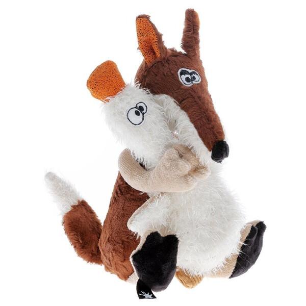 Купить Мягкие игрушки, Мягкая игрушка sigikid Beasts Лис и утка 21 см 38361SK