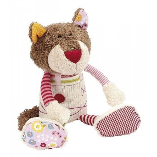 Купить Мягкие игрушки, Мягкая игрушка sigikid Кот 30 см 38436SK
