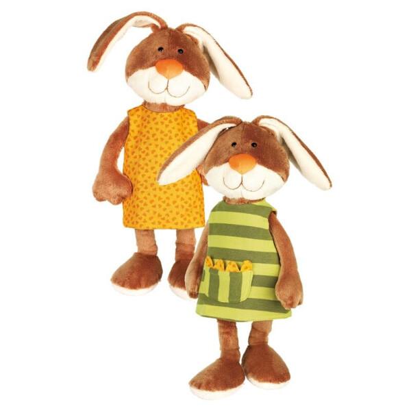 Купить Мягкие игрушки, Мягкая игрушка Sigikid Кролик в платье 40см 38327SK