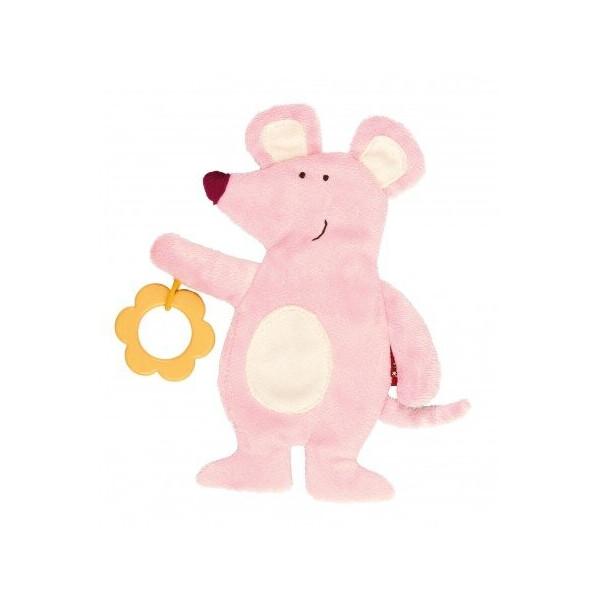 Купить Мягкие игрушки, Мягкая игрушка Sigikid Мышь19 см 41878SK