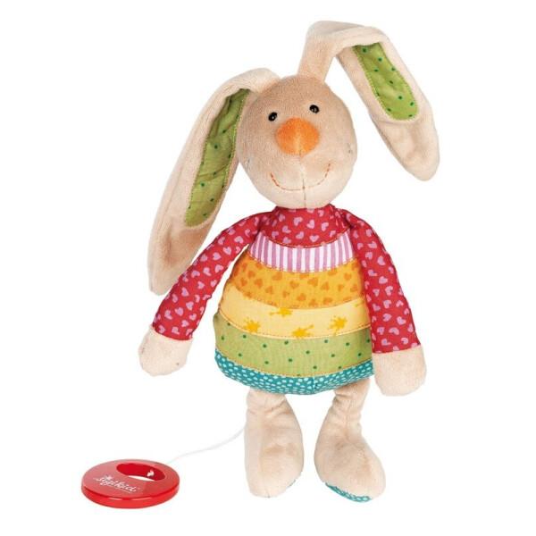 Купить Мягкие игрушки, Мягкая музыкальная игрушка Sigikid Кролик 27см 40577SK