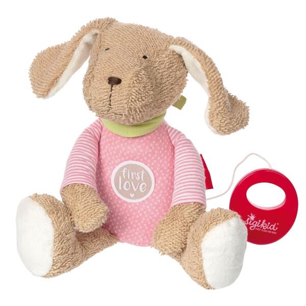 Купить Мягкие игрушки, Мягкая музыкальная игрушка Sigikid Песик 27 см 38784SK