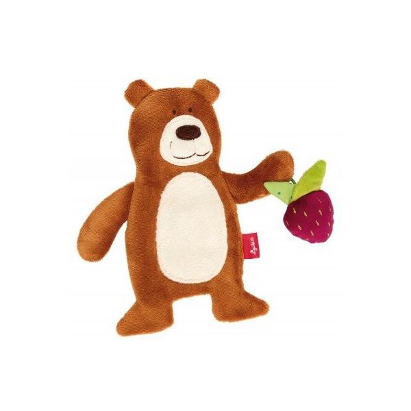 Купить Мягкие игрушки, Мягкая шуршащая игрушка Sigikid Мишка 20 см 41879SK