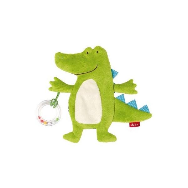 Купить Мягкие игрушки, Мягкая шуршащая игрушка Sigikid Крокодил 20 см 41880SK