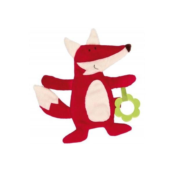 Купить Мягкие игрушки, Мягкая шуршащая игрушка Sigikid Лисичка 20 см 41882SK