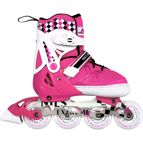 Купить Роликовые коньки, Nils Extreme 31-34 Pink (NA13911A-PNK_S31-34)