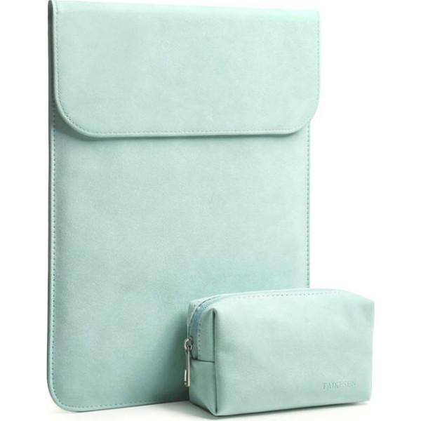 Купить Сумки для ноутбуков, Чехол-конверт из натуральной замши Taikesen для MacBook Air 11.6 A1370/A1465 Mint (комплект 2в1) (UP9141)