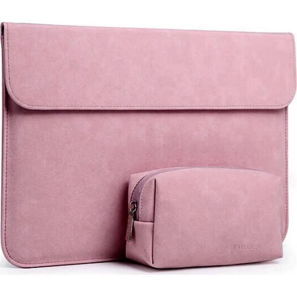 Купить Сумки для ноутбуков, Чехол-конверт из натуральной замши Taikesen для MacBook Air 11.6 A1370/A1465 Pink (комплект 2в1) (UP9156)