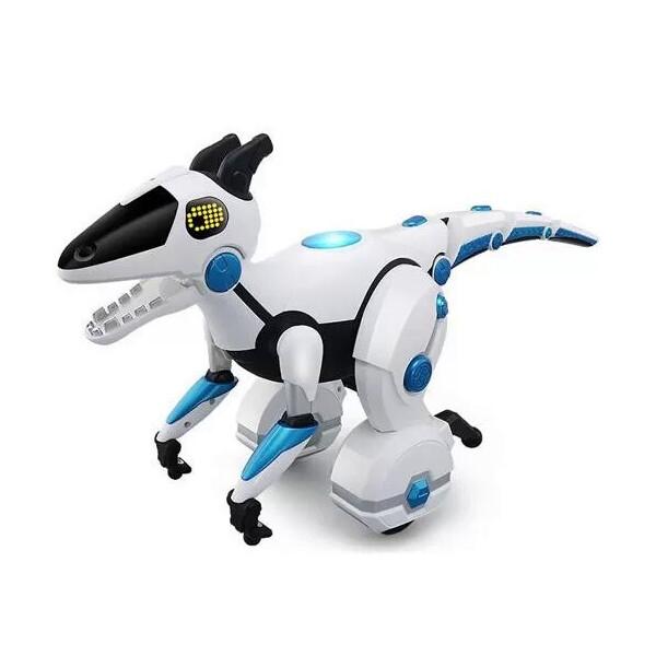 Купить Радиоуправляемые модели, Игрушка интерактивный робот динозавр на радиоуправлении (098392112), Metr+