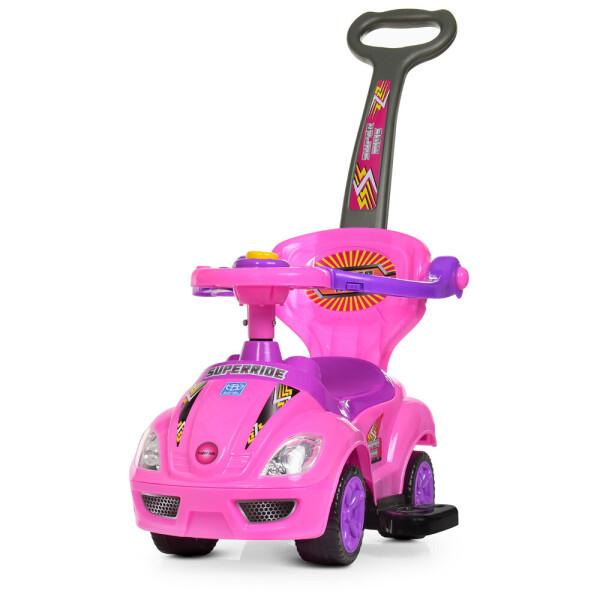 Купить Детские качалки, каталки, Каталка-толокар M 4205-8 розовый BAMBI