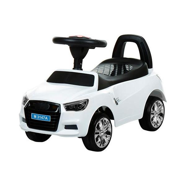 Купить Детские качалки, каталки, Каталка-толокар Bambi Audi M 3147A(MP3)-1 White (M 3147A(MP3))