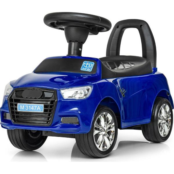 Купить Детские качалки, каталки, Каталка-толокар Bambi Audi M 3147A(MP3)-4 Blue (M 3147A(MP3))
