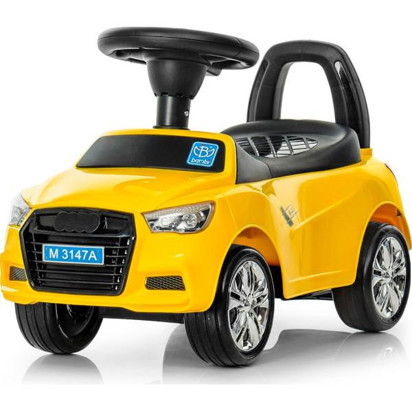 Купить Детские качалки, каталки, Каталка-толокар Bambi Audi M 3147A(MP3)-6 Yellow (M 3147A(MP3))