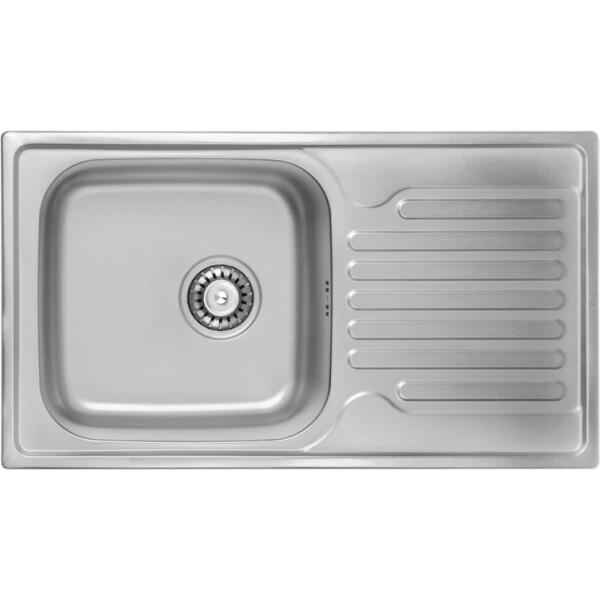 Купить Кухонные мойки, Кухонная мойка ULA 7204 Decor (ULA7204DEC08)