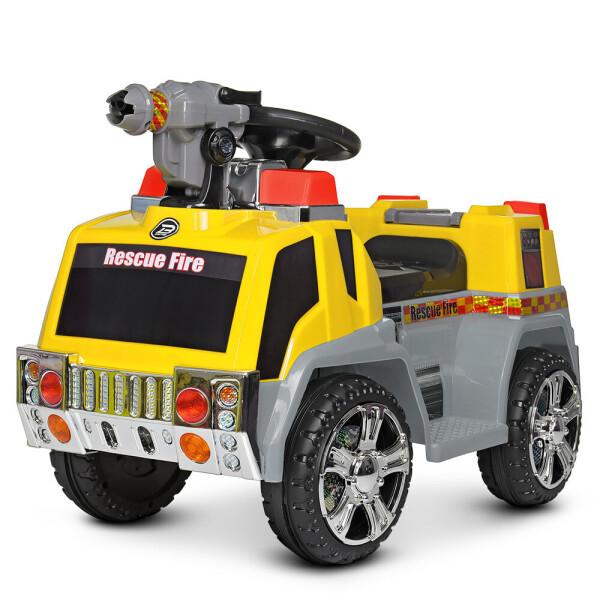 Купить Детские электро- и веломобили, Электромобиль Машина ZPV119AR-6 желтый BAMBI