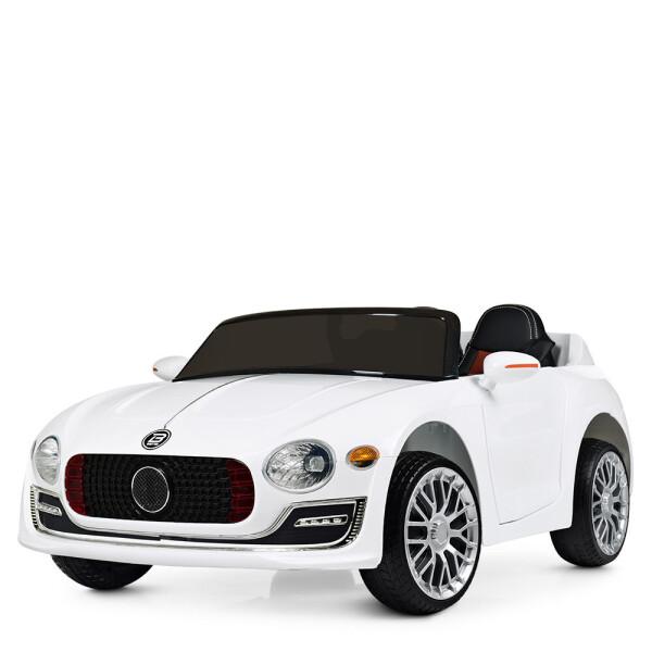 Детские электро- и веломобили, Электромобиль Машина M 4109EBLR-1 белый BAMBI  - купить со скидкой