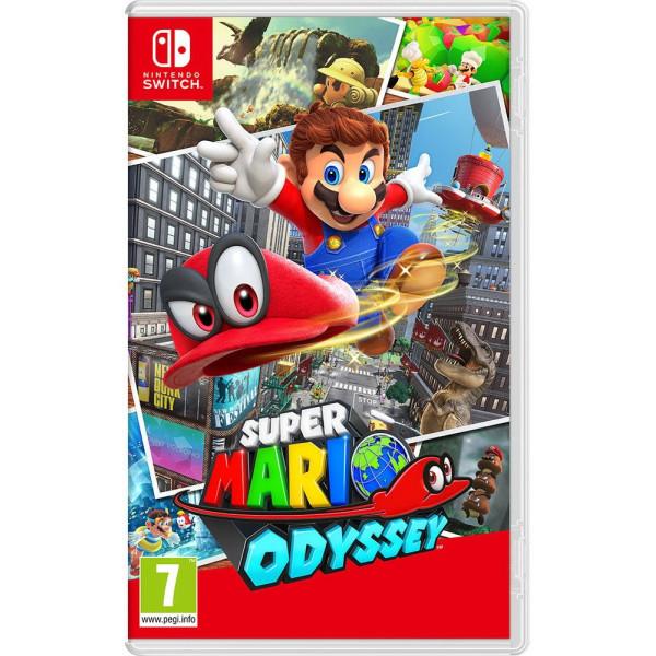 Купить Игры, для Nintendo Switch Super Mario Odyssey (русская версия)